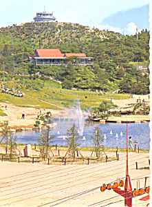 Mt Rokko, Country House, Japan Postcard (Image1)
