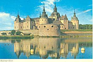 Kalmar Slott, Kalmar, Sweden Postcard 1975 (Image1)