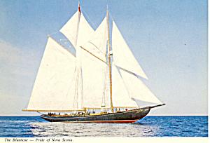 The Bluenose Pride of Nova Scotia Postcard cs1481 (Image1)