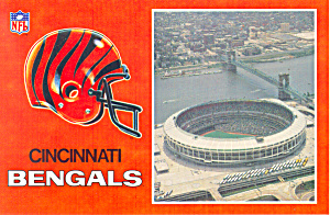 Riverfront Stadium Cincinnati Ohio Postcard cs1483 (Image1)