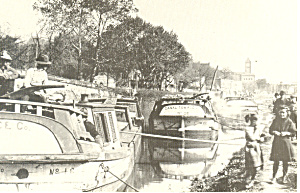 Chesapeake and Ohio Canal Boats Postcard (Image1)