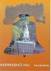 Independance Hall Philadelphia PA Postcard cs1501 (Image1)