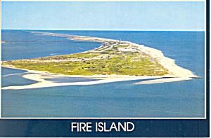 Fire Island Long Island NY Postcard cs1507 (Image1)