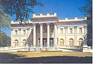 Marble House, Bellevue Ave., Newport, RI Postcard (Image1)