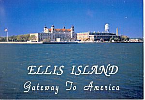 Ellis Island NY Postcard cs1513 (Image1)