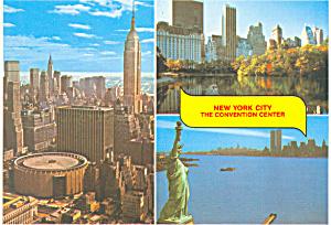 Madison Square Garden  New York City NY  Postcard cs1521 (Image1)