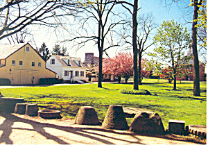 Landis Valley Museum Lancaster County Pa Postcard Cs1523