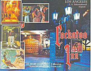 Cockatoo Inn at LAX Hawthorne CA Postcard cs1534 (Image1)