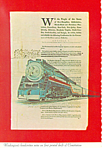 American Freedom Train Postcard cs1535 (Image1)