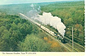 American Freedom Train Postcard cs1536 (Image1)