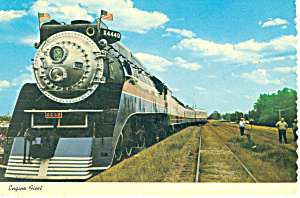 Freedom Train 4449 Steam Engine Train Postcard cs1538 (Image1)