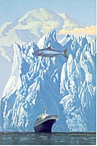Holland America to Alaska Postcard cs1543 (Image1)