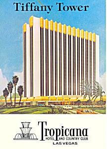 Tiffany Tower Tropicana Hotel Las Vegas NV Postcard cs1546 (Image1)