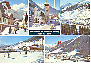 Schizentrum St Anton am Arlberg Postcard cs1550 (Image1)