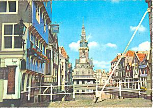 Alkmaar Netherlands Waaggebouw Postcard cs1608 (Image1)