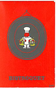 Bistroquet Restaurant Den Haag Netherlands Postcard cs1611 (Image1)
