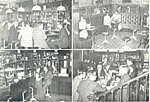 Rose Orange English Pub, Den Haag Netherlands Postcard cs1612 (Image1)