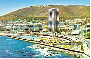 Sea Point Swimming Bath Cape Town South Africa Postcard cs1620 (Image1)
