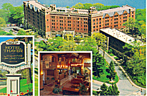 Hotel Thayer, West Point, NY Postcard (Image1)