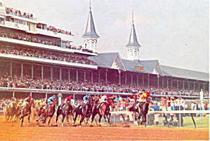 Churchill Downs, Louisville, KY Postcard (Image1)
