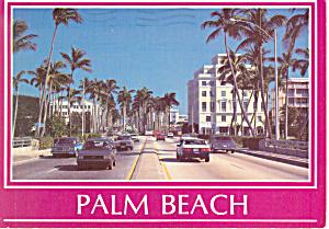 Palm Beach,Florida Postcard cs1638 1989 (Image1)
