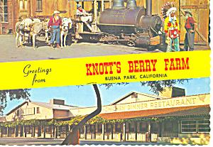 Buena Park CA  Knotts Berry Farm Postcard cs1666 (Image1)