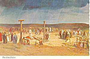 Forest Lawn CA  The Crucifixion Postcard cs1667 (Image1)