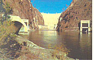 Boulder Hoover Dam Nevada Arizona Postcard cs1686 (Image1)