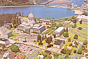 Olympia , WA State Capitol Postcard (Image1)