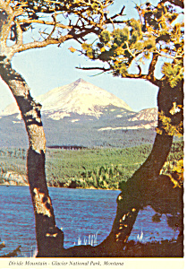Divide Mountain,Glacier National Park, MT Postcard (Image1)