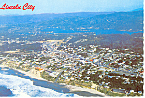 Lincoln City, Oregon Postcard (Image1)