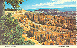 Sunset Point Bryce Canyon National Park UT Postcard cs1722 (Image1)