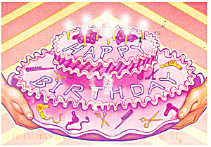 Happy Birthday  Postcard (Image1)