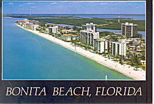 Bonita Beach Florida  Postcard cs1738 1989 (Image1)