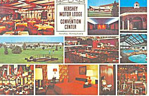 Hershey, PA Motor Lodge Postcard 1979 (Image1)