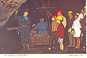 An Anthracite Coal Mine Postcard (Image1)