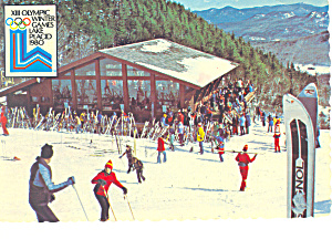 Whiteface Mountain Ny 1980 Olympics Postcard Cs1755