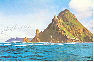 Cape Point Cape of Good Hope South Africa Postcard cs1818 (Image1)