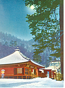 Tachiki Kannon Temple Japan Postcard cs1843 (Image1)