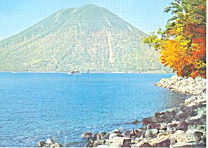 Lake Cheuzenji  Japan Postcard cs1845 (Image1)