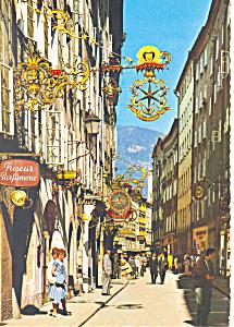 Festival City of Salzburg Austria Postcard cs1848 (Image1)