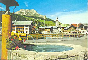 Lech am Arlberg Austria Postcard cs1849 (Image1)