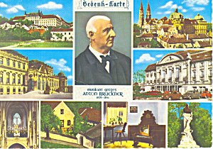 Views of Vienna Austria Postcard (Image1)
