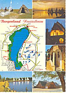 Burgenland Neusiedlersee  Austria Postcard cs1870 (Image1)