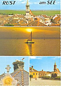 Rust am Neusiedlersee  Austria Postcard cs1878 (Image1)