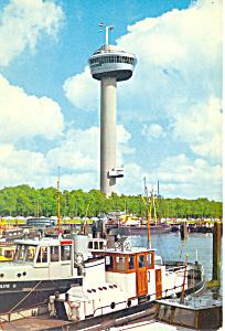 Euromast Rotterdam Netherlands Postcard cs1886 (Image1)