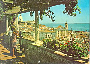 Lisbon Portugal Saint Luzin Watchtower Alfama Postcard cs1897 (Image1)