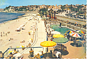 Estoril Portugal Piscina da Tamariz Postcard cs1899 (Image1)