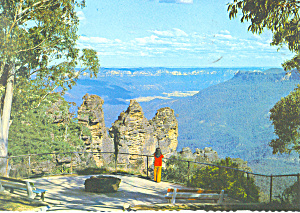 Katoomba, Blue Mountain, NSW,Australia Postcard (Image1)