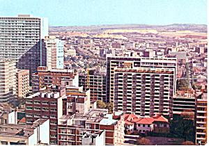 Johannesburg South Africa View Hillbrow Postcard cs1939 1975 (Image1)